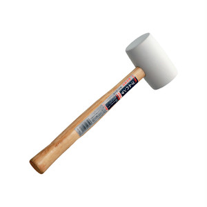 ゴムハンマ 白 GHW-450W