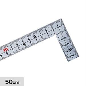 計測道具 快段目盛 厚手広巾 50cm MT-50KD