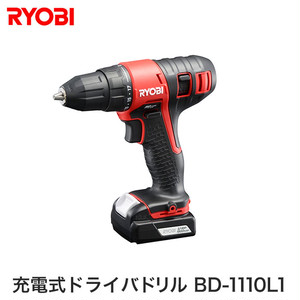 リョービ(RYOBI) 充電式ドライバドリル BD1110L1