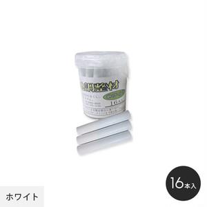 クロス目開き防止 チョーク状 クロス目地調整剤 (ノンダスト) ホワイト 16本 100169