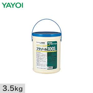 壁紙施工用合成樹系接着剤 プラゾール100s 3.5kg 220-122