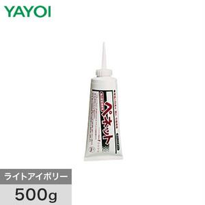 壁紙施工用合成樹系接着剤 ペネット ライトアイボリー 500g 220-631