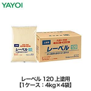 合成樹脂系上塗用パテ レーベル 120 4kg×4袋 262-631