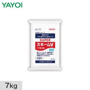 ヤヨイ化学 合成樹脂系粉末パテ SUPERスキームV (白) 7kg