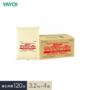 合成樹脂系下塗・上塗両用パテ ワイドスーパー 120 3.2kg×4袋 276-231