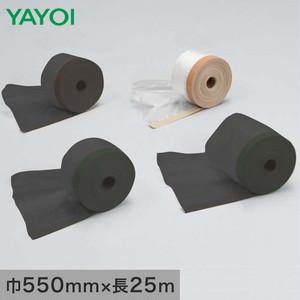 養生材 布テープ付ポリエチレン 茶