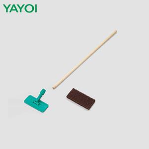 清掃工具・道具 ハイパーブラシセット (頭、木柄、パット) 328-071-072-073