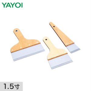 壁・床施工道具 シルバーパテベラ 1.5寸 346-001