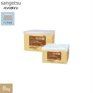 巾木・垂直面施工用 アクリル樹脂系エマルション形接着剤 ベンリダイン 巾木糊 8kg