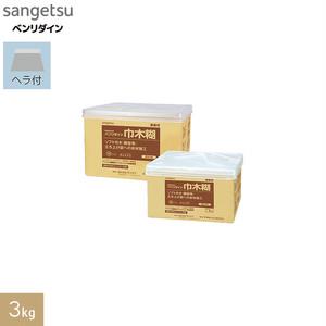 巾木・垂直面施工用 アクリル樹脂系エマルション形接着剤 ベンリダイン 巾木糊 3kg