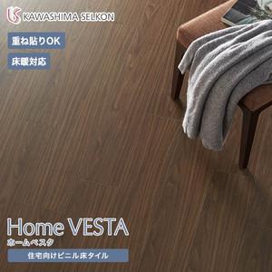 住宅向けビニル床タイル(床暖OK 重ね貼り可)川島織物セルコン ホームベスタ モカ 150×914.4×3mm 24枚入