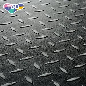 フロアタイル 塩ビタイル 東リ タイルコレクション ロイヤルストーン・グラン チェッカーメタル 457.2×914.4×3.0mm 8枚/ケース
