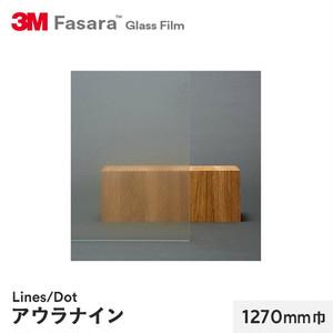 3M ガラスフィルム ファサラ ラインズ/ドット アウラナイン 1270mm巾