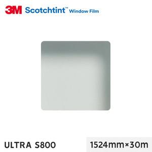 3M ガラスフィルム スコッチティント 透明飛散防止 ULTRA S800 1524mm×30m