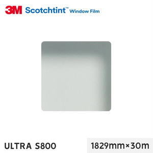 3M ガラスフィルム スコッチティント 透明飛散防止 ULTRA S800 1829mm×30m