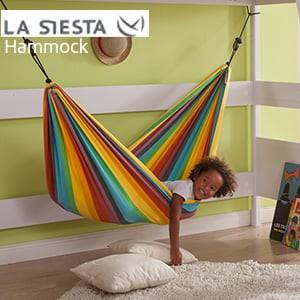 LA SIESTA キッズハンモック Iri 長210×幅110cm