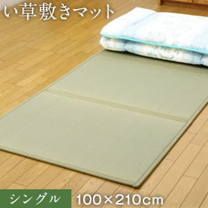 い草敷きマット シングル 100×210cm