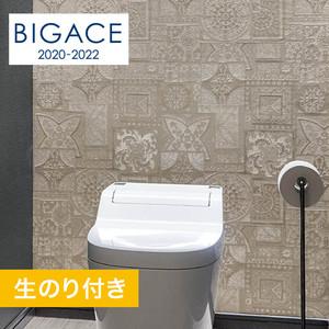 【のり付き壁紙】シンコール BIGACE アジアン調 BA5064