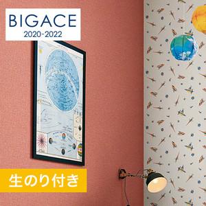 【のり付き壁紙】シンコール BIGACE 織物調 BA5096