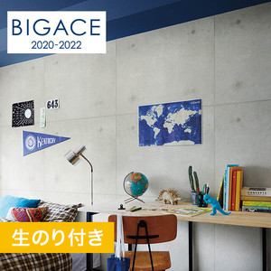 【のり付き壁紙】シンコール BIGACE コンクリート・メタル調 BA5208