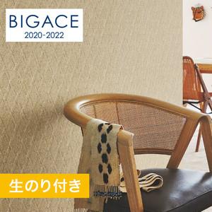 【のり付き壁紙】シンコール BIGACE アジアン調 エアセラピ BA5245