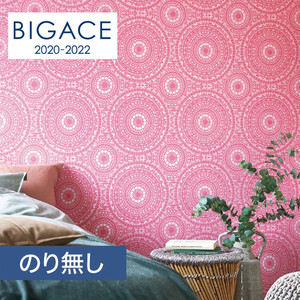 【のり無し壁紙】シンコール BIGACE アジアン調 BA5203