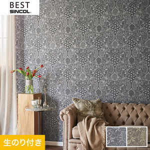 のり付き壁紙 シンコール ベスト BB9688・BB9689