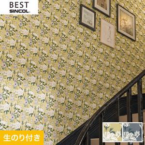 のり付き壁紙 シンコール ベスト BB9748・BB9749
