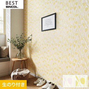 のり付き壁紙 シンコール ベスト BB9755・BB9756