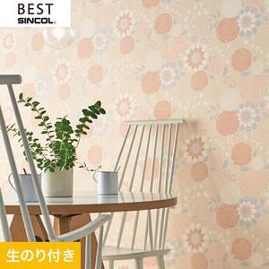 のり付き壁紙 シンコール ベスト BB9767