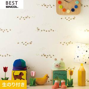 のり付き壁紙 シンコール ベスト BB9828