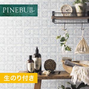 【のり付き壁紙】トキワ パインブル [ナチュラル]TWP1091 (巾92.8cm)