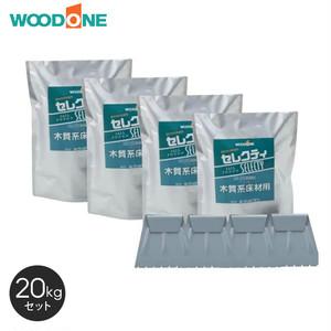 ウッドワン 接着剤 無垢フローリングピノアース6mm用接着剤 20kg/セット