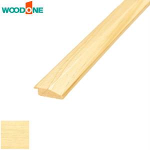 ウッドワン 床見切り材E型 ピノアース 6mm 自然塗装クリア色 長1900×幅30×厚9mm