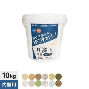 フジワラ化学 練済み珪藻土 珪藻土壁材MIX 10kg