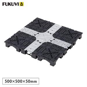 フクビ OAフロア ピットTN-50パネル 置敷溝配線タイプ 4枚入(1平米)500×500×H50mm