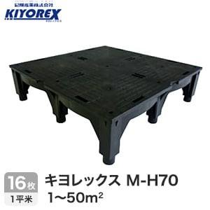 OAフロア キヨレックス M-H70 16枚入(1平米) ※こちらはご購入総面積が1~50平米以下の商品ページです