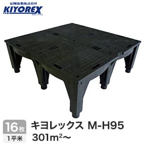 OAフロア キヨレックス M-H95 16枚入(1平米) ※こちらはご購入総面積が301平米以上の商品ページです