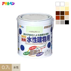 アサヒペン 水性塗料 水性建物用 0.7L