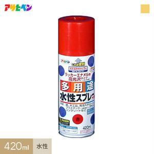 アサヒペン 水性多用途スプレー ゴールド 420ml