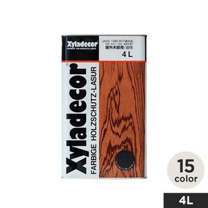 屋外木部用・高性能木材保護塗料(油性) キシラデコール 4L
