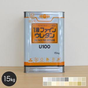 【日本ペイント】一液ファインウレタンU100 15kg