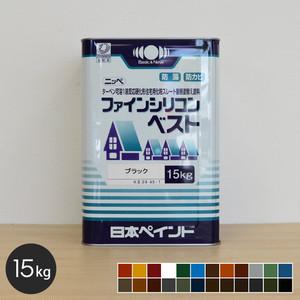 【日本ペイント】ファインシリコンベスト 15kg
