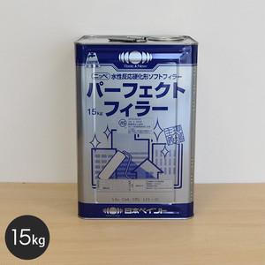 【日本ペイント】パーフェクトフィラー 15kg 白色