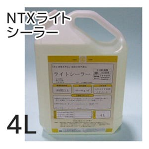 【大阪塗料】NTXライトシーラー 4L 無色透明