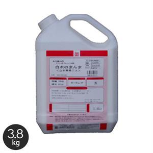【大阪塗料】白木のまんま 3.8kg 乳白色