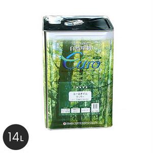 【大阪塗料】ユーロオイルクリヤー 14L 透明