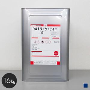 【大阪塗料】ウルトラックステイン 16L 青色