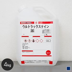 【大阪塗料】ウルトラックステイン 4L 青色