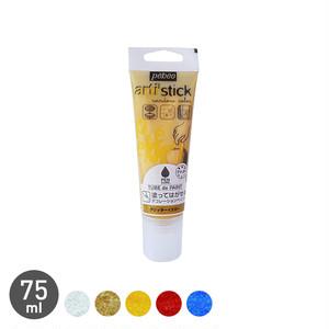 塗ってはがせるデコレーションペイント ペンキュア TUBE de PAINT グリッター 75ml